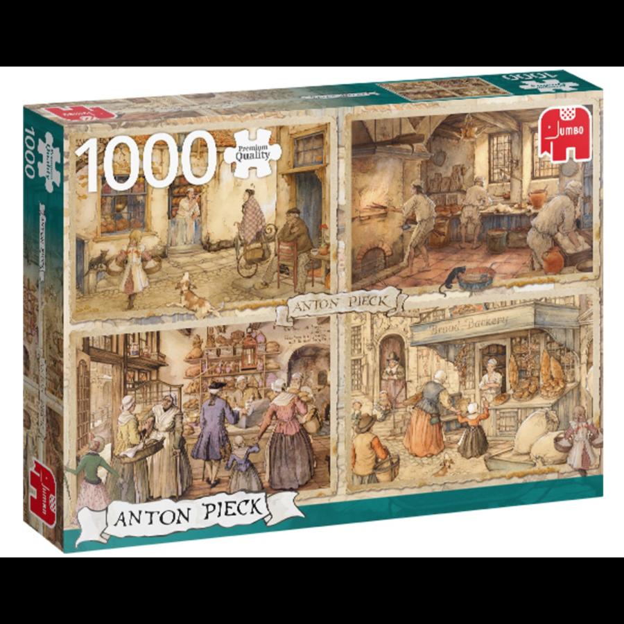 Bakers - Anton Pieck - 1000 pieces-2