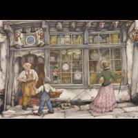 thumb-De klokkenwinkel - Anton Pieck - 1000 stukjes-1