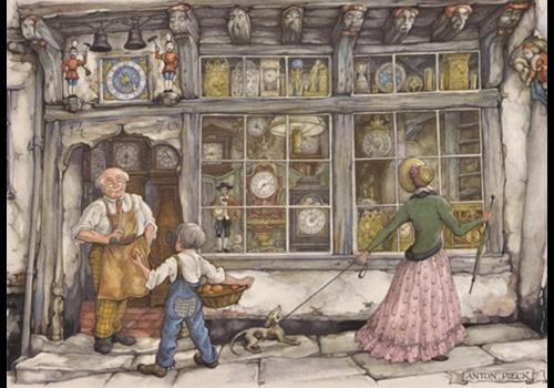 La boutique de l'horloge - Anton Pieck - 1000 pièces
