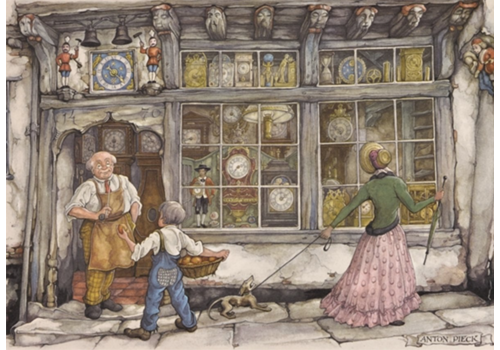 The Clock Shop - Anton Pieck - 1000 pieces