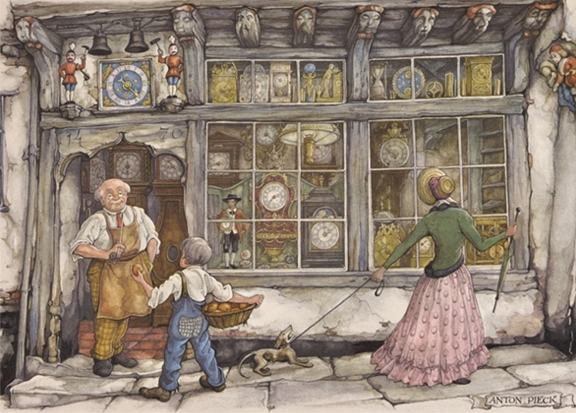 Buying cheap Puzzles of 'Anton Pieck'? Wide choice!