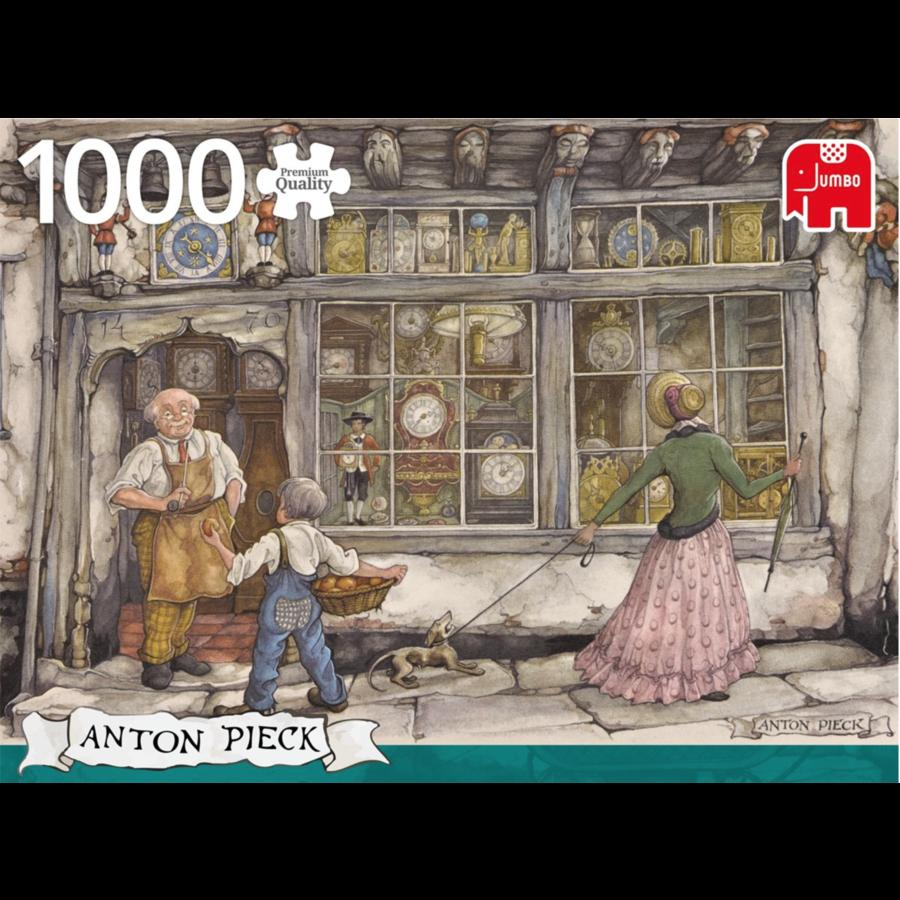 De klokkenwinkel - Anton Pieck - 1000 stukjes-2