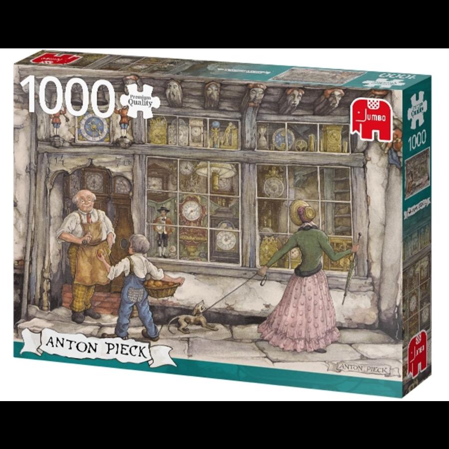 De klokkenwinkel - Anton Pieck - 1000 stukjes-3