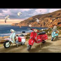 thumb-Scooters - puzzle de 1000 pièces-1