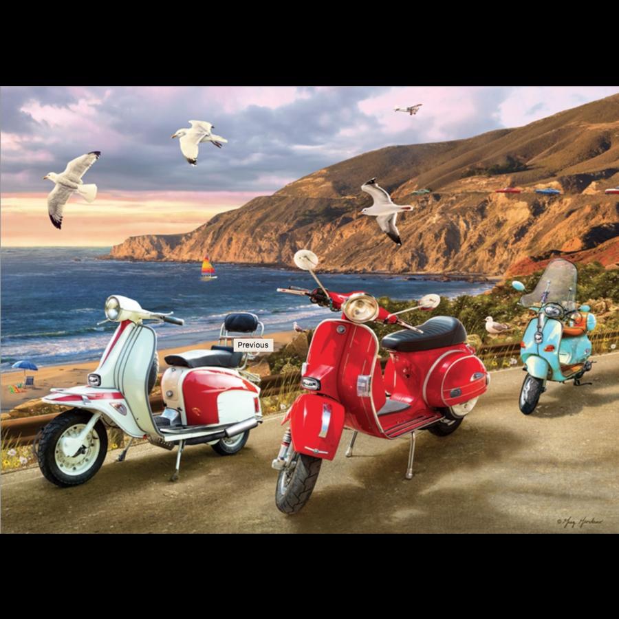 Scooters - puzzle de 1000 pièces-1