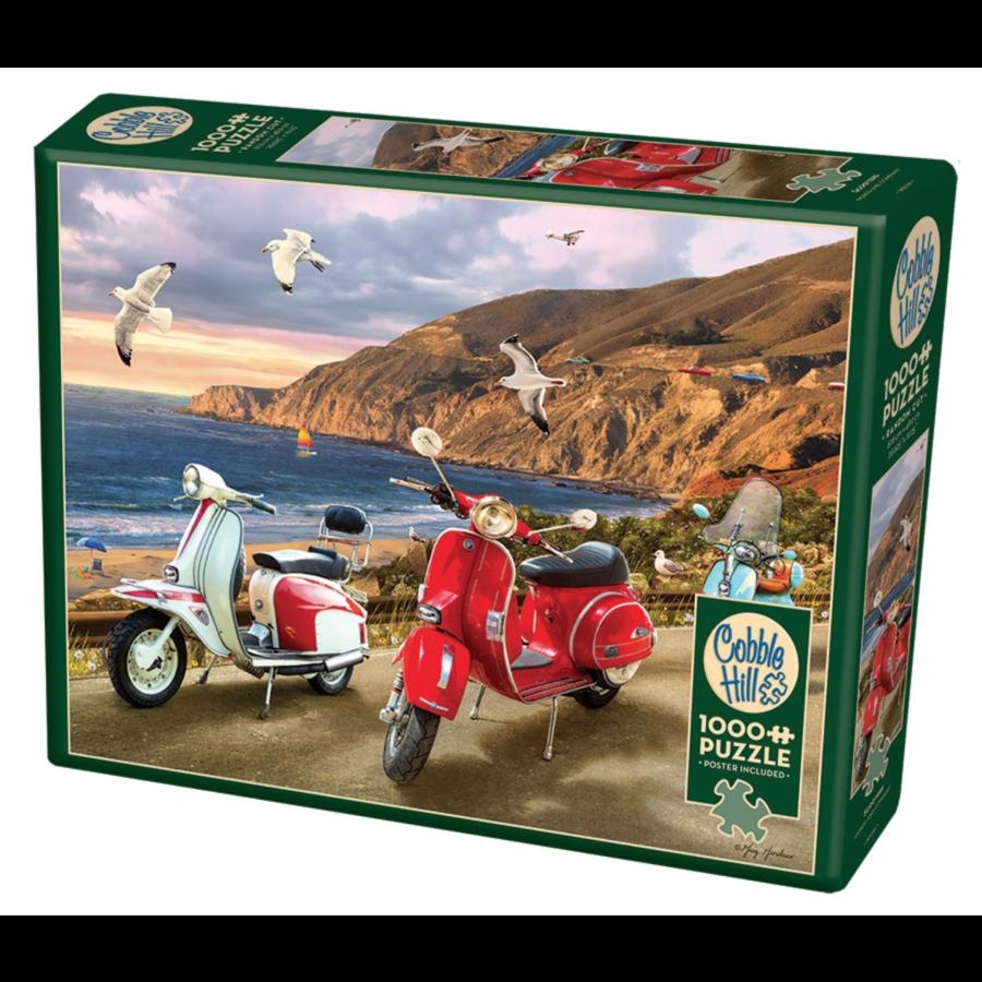 Scooters - puzzle de 1000 pièces-2
