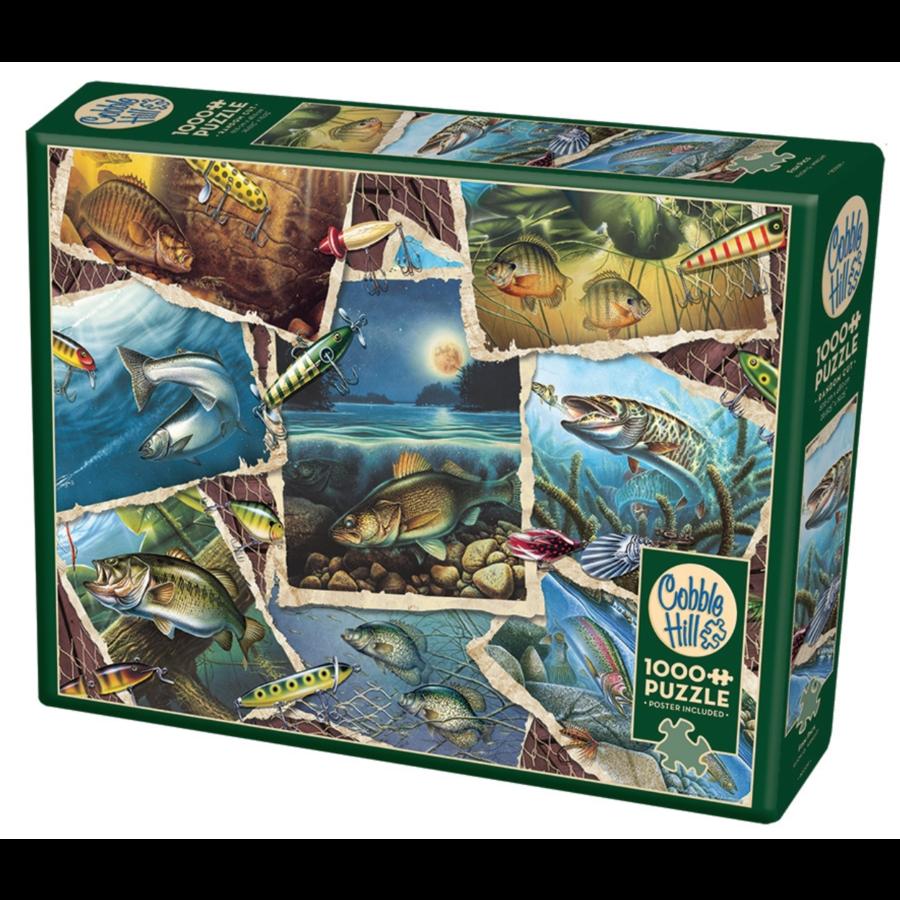 Allemaal vissen - puzzel van 1000 stukjes-2