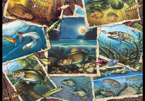Allemaal vissen - 1000 stukjes