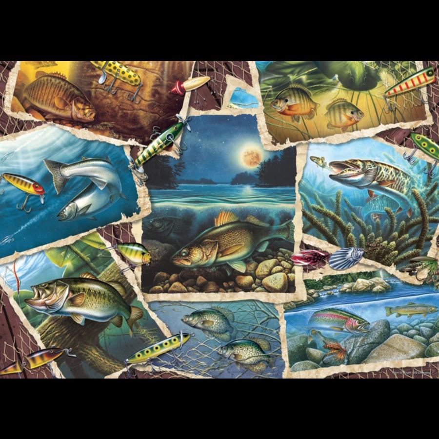 Allemaal vissen - puzzel van 1000 stukjes-1