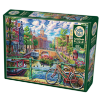thumb-Gracht in Amsterdam - puzzel van 1000 stukjes-2