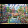 Cobble Hill Canal d'Amsterdam - puzzle de 1000 pièces