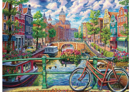 Cobble Hill Amsterdam Canal - 1000 pieces