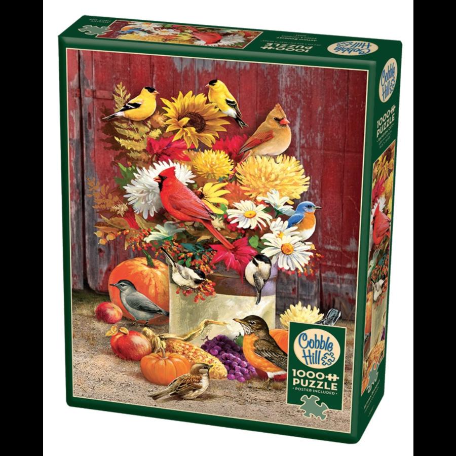 Herfstboeket - puzzel van 1000 stukjes-2