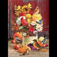 thumb-Bouquet d'automne- puzzle de 1000 pièces-1