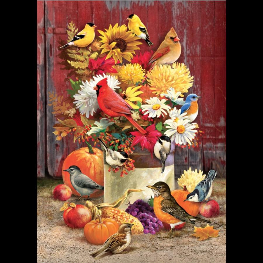 Herfstboeket - puzzel van 1000 stukjes-1