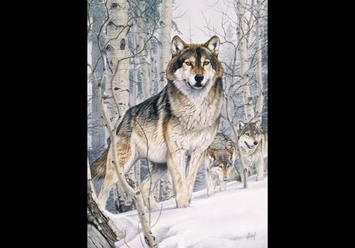 Wolven op jacht - 1000 stukjes