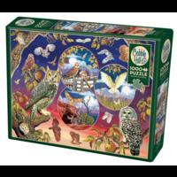 thumb-Magische uilen - puzzel van 1000 stukjes-2