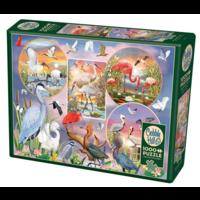 thumb-Magie des oiseaux d'eau  - puzzle de 1000 pièces-2