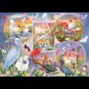 Cobble Hill Magie des oiseaux d'eau  - puzzle de 1000 pièces