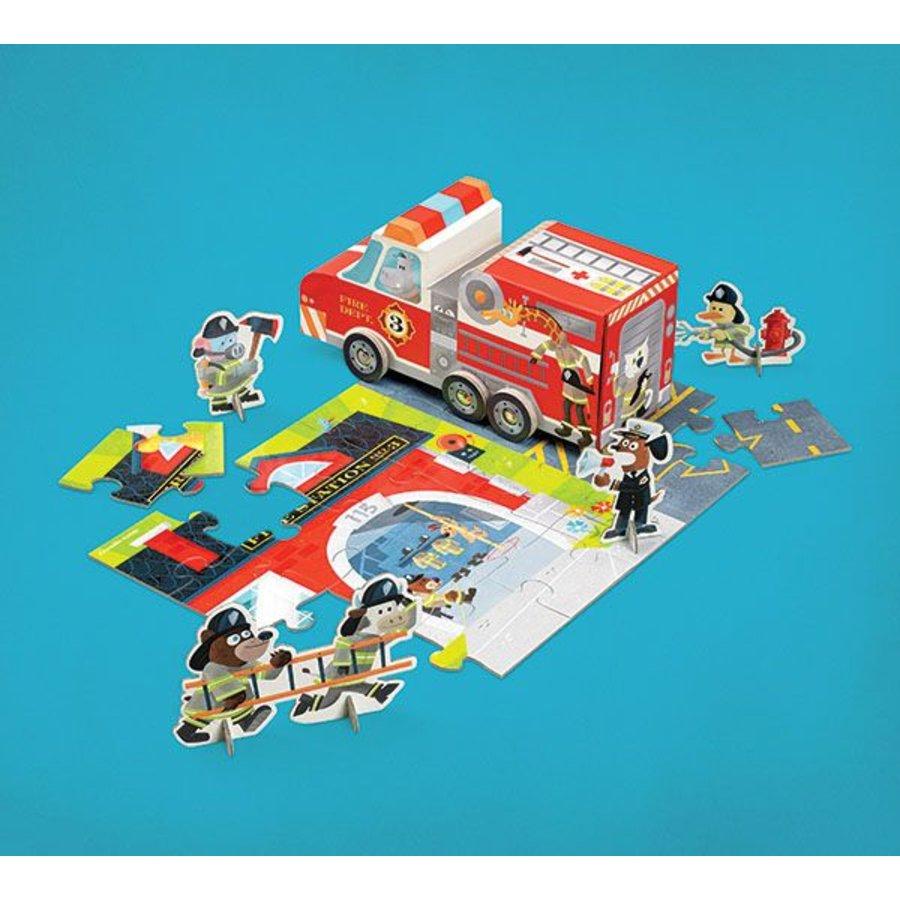 Fire brigade play set - 24 pieces-2