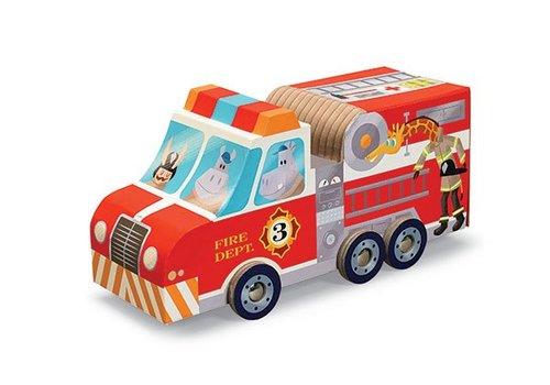 Speelset Brandweer - 24 stukjes