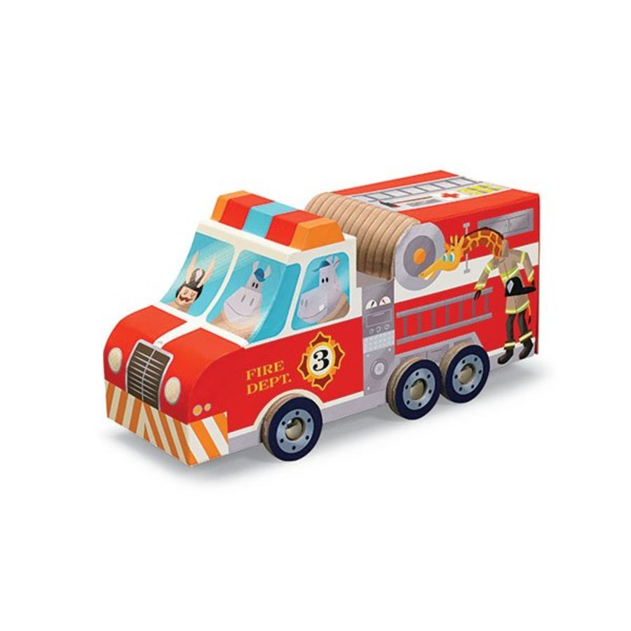 Fire brigade play set - 24 pieces-1