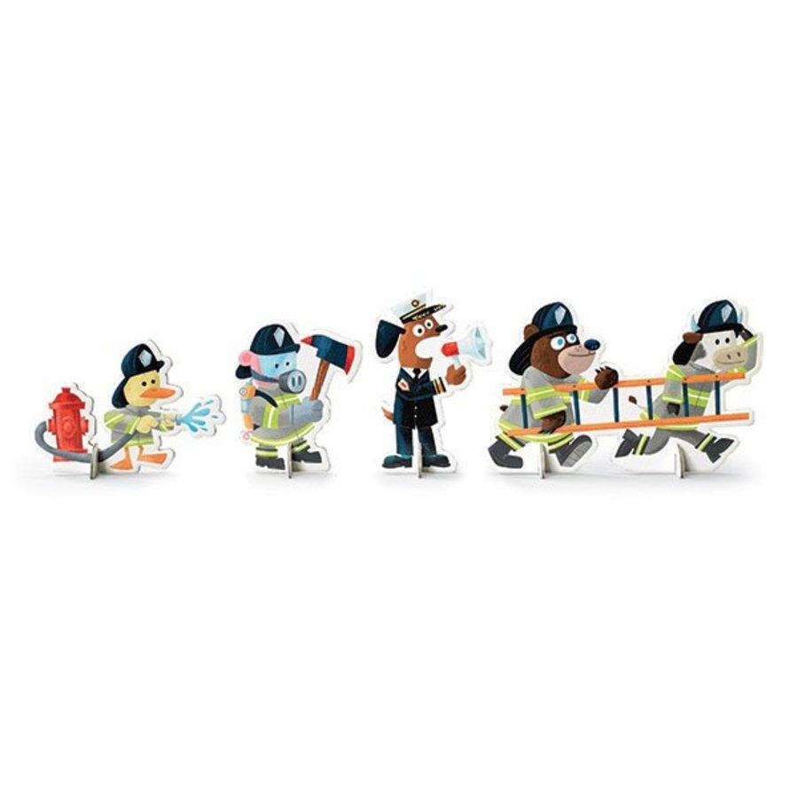 Fire brigade play set - 24 pieces-3