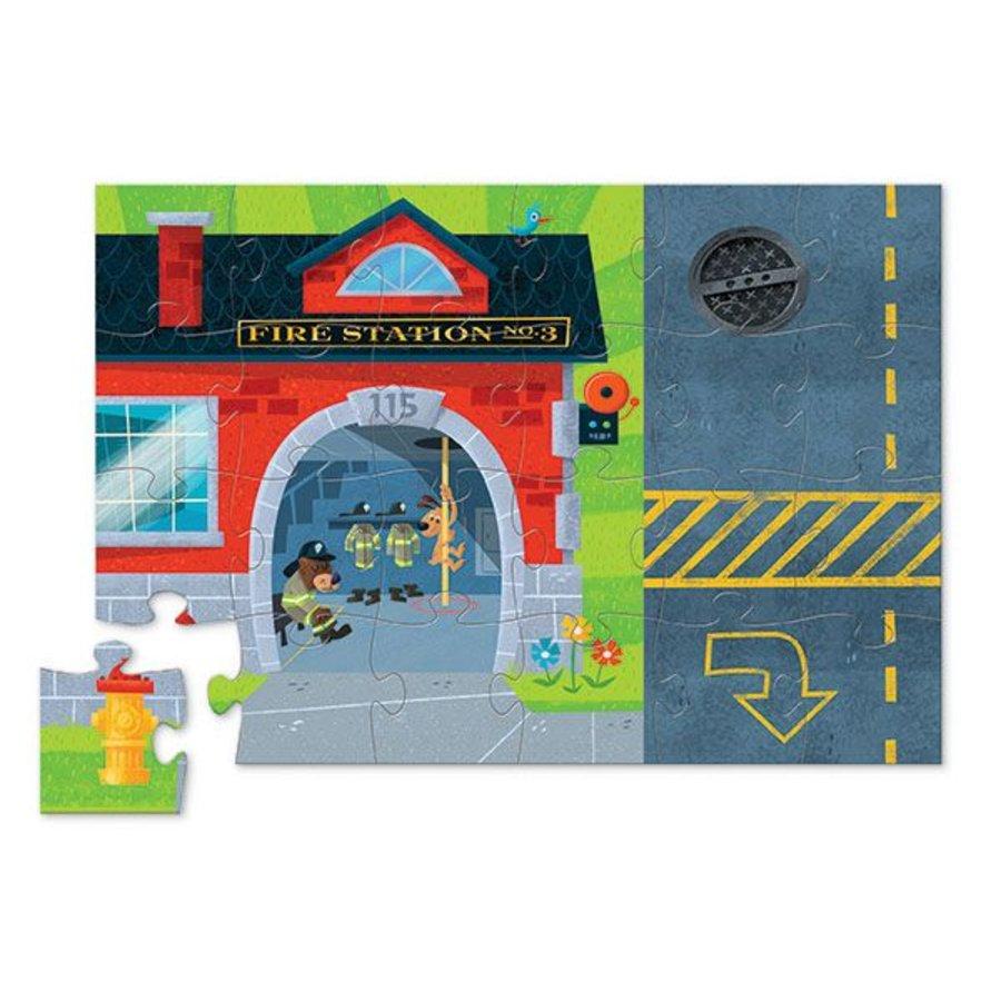 Fire brigade play set - 24 pieces-4