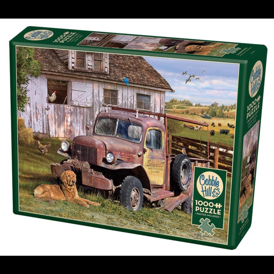 La camionnette  - puzzle de 1000 pièces-2