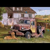 thumb-La camionnette  - puzzle de 1000 pièces-1