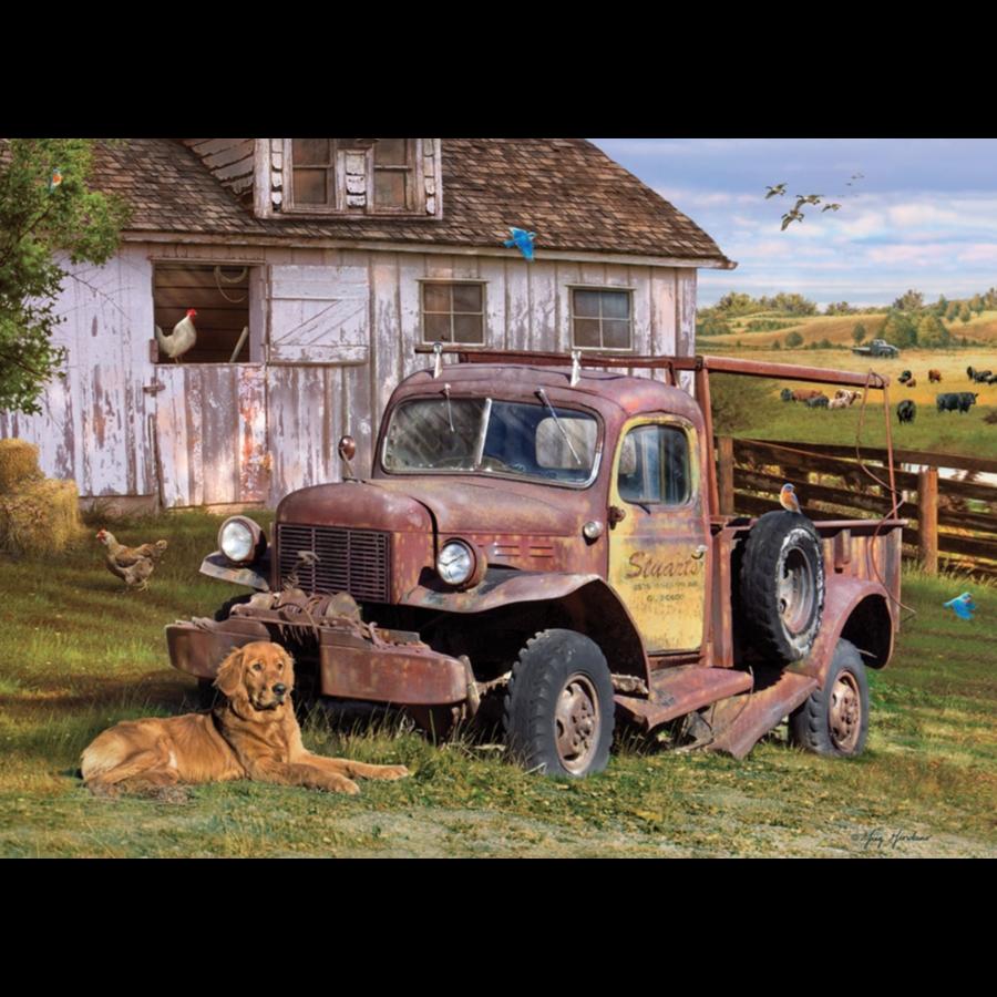 La camionnette  - puzzle de 1000 pièces-1