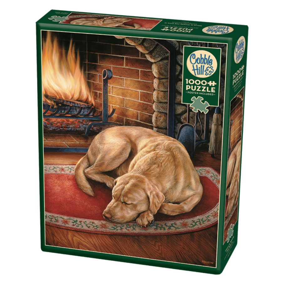 Home is where the dog is  - puzzle of 1000 pieces-2