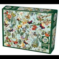 thumb-Fruit en vlinders - puzzel van 1000 stukjes-2