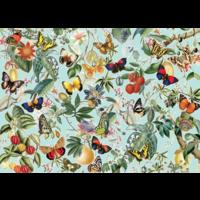 thumb-Fruit en vlinders - puzzel van 1000 stukjes-1