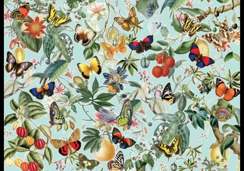Fruit en vlinders - 1000 stukjes