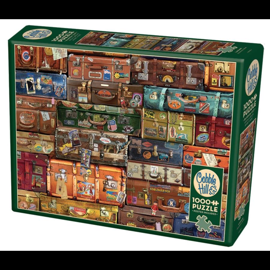 Bagage - puzzel van 1000 stukjes-2