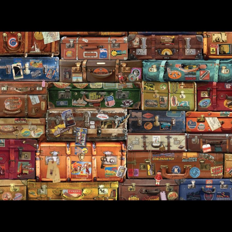 Bagage - puzzel van 1000 stukjes-1