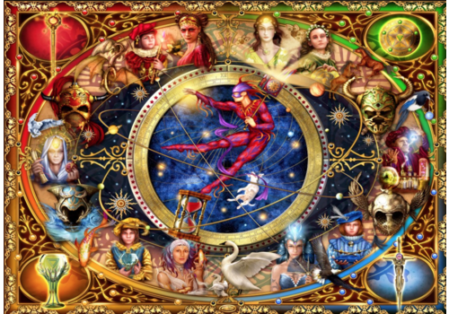 Bluebird Puzzle L'héritage du Tarot Divin  - 1000 pièces