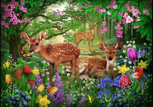 Esprit du printemps- 1500 pièces