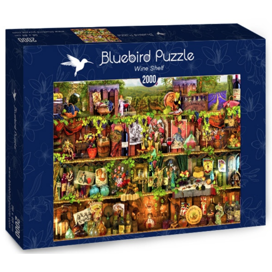 Wijnkast - puzzel van 2000 stukjes-2