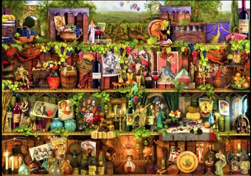 Rayon de vin - 2000 pièces