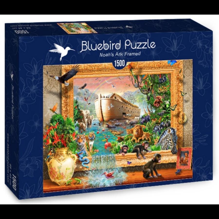 Arche de Noé encadrée - puzzle de 1500 pièces-2