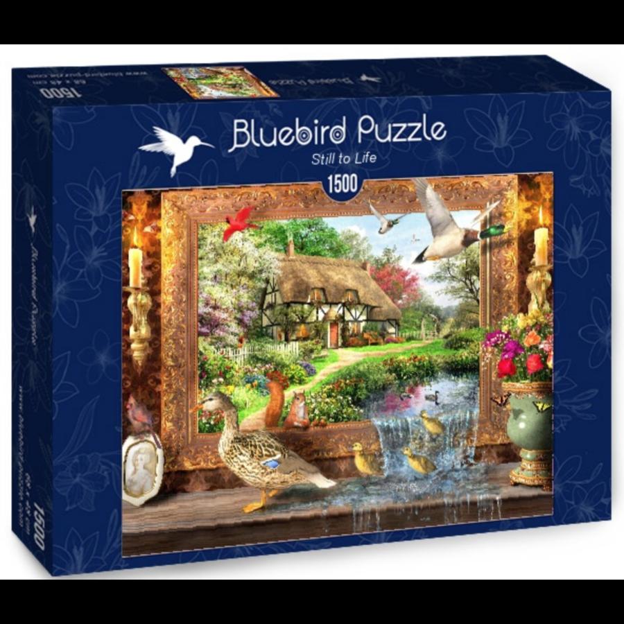 Leven rond de cottage - puzzel van 1500 stukjes-2