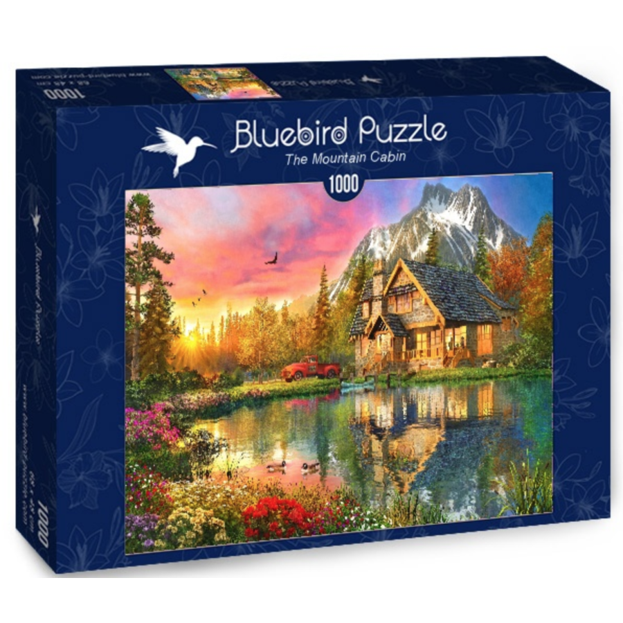 Berghut - puzzel van 1000 stukjes-2