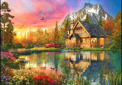 Mountain Cabin  - 1000 pieces