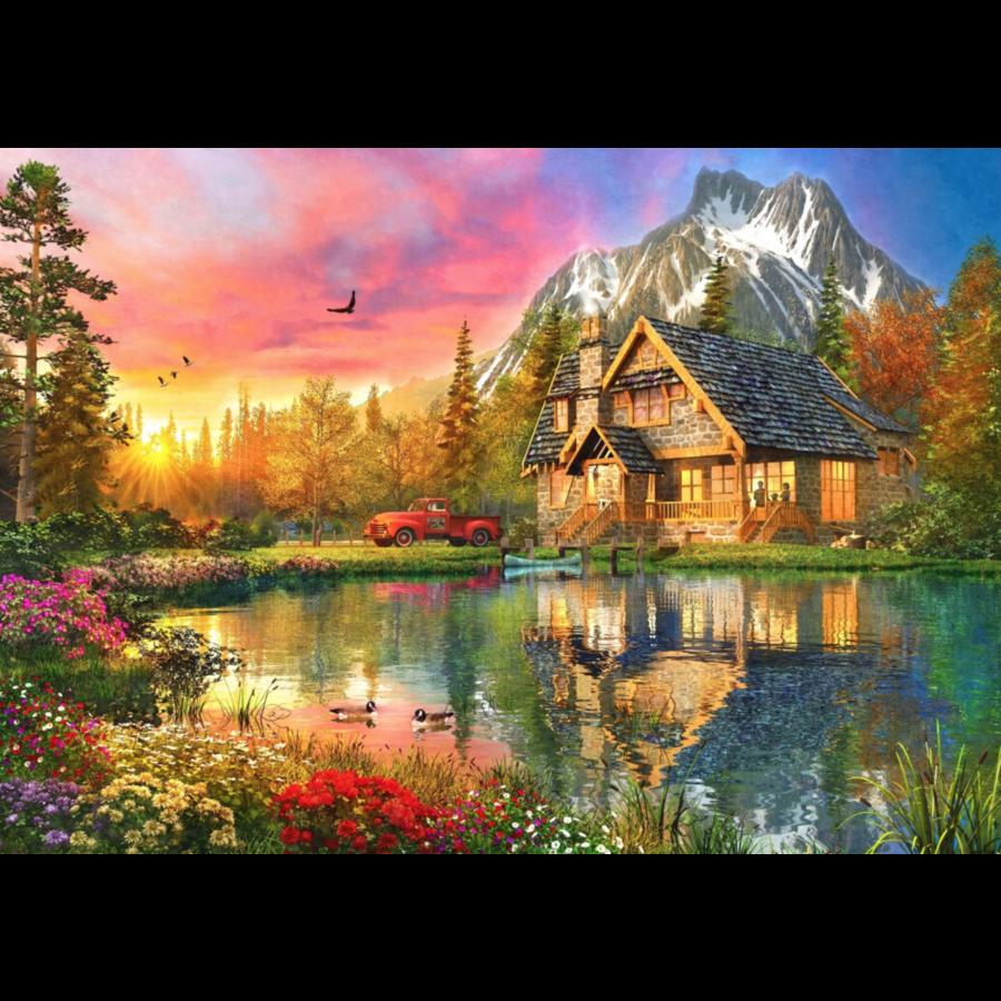 Berghut - puzzel van 1000 stukjes-1