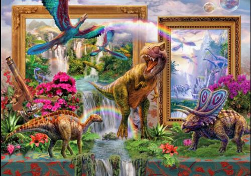 Mélange de dinosaures - 1000 pièces