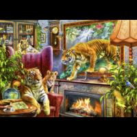 thumb-Tigres prennent vie - puzzle de 2000 pièces-1