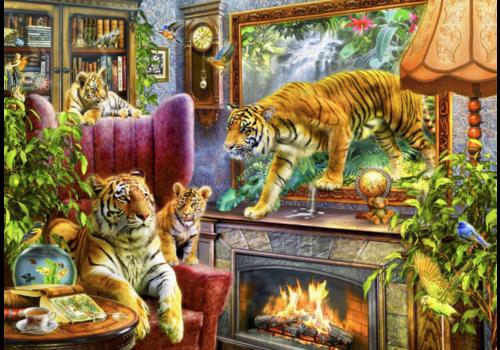 Tigres prennent vie - 2000 pièces