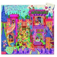 thumb-Château de conte de fées - Puzzle de 54 pièces-2